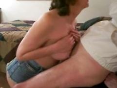 Amazing homemade porn movie with mature mom sucking big cock
