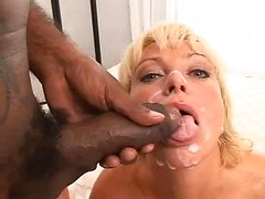 Great oral husband and wife sex with dirty facial cumshot in the end